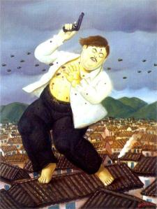 Ο πίνακας του Μποτέρο, «Ο θάνατος του Πάμπλο Εσκομπάρ»